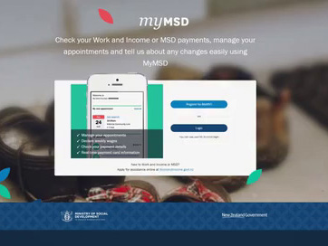 How to sign up to MyMSD. Thumbnail of video.
